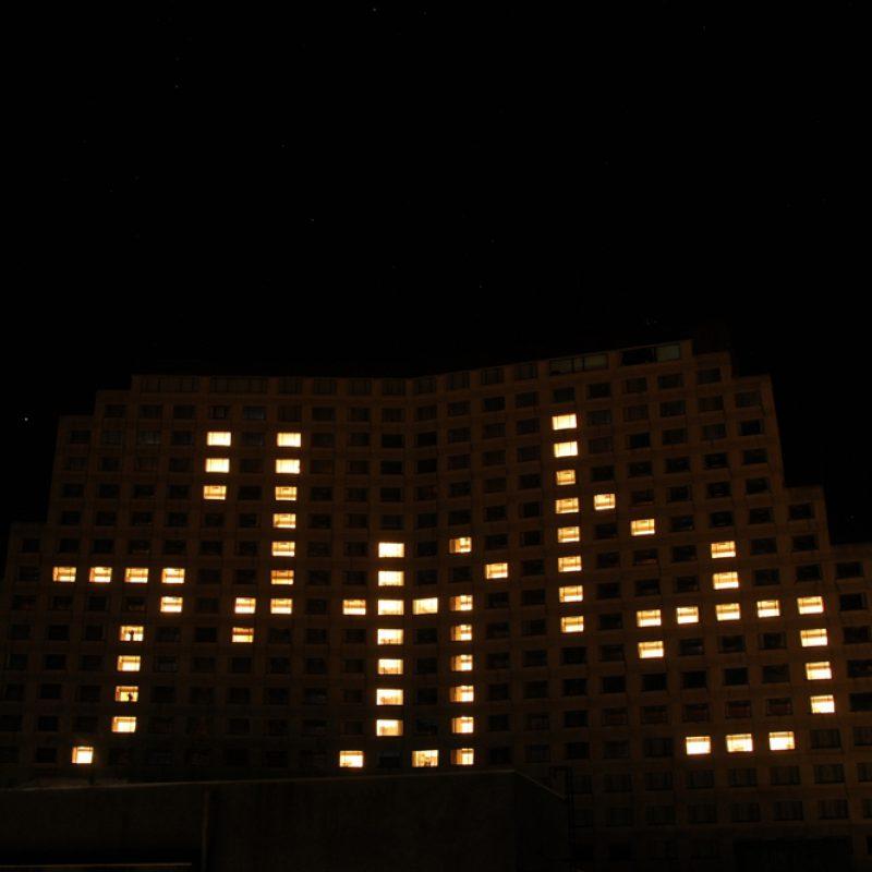 ライトアップ10